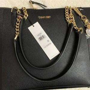 Calvin Klein Marybell Tote in black